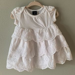 Baby Gap 0-3m dress + diaper cover (not pictured)